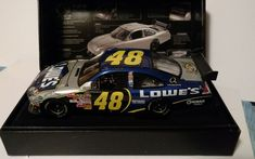 b2af4c48a75e NASCAR 1:24 E RCCA LOWE'S RACING 2008 Chevrolet JIMMIE JOHNSON 1 OF 700 #