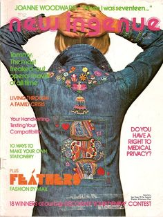 new ingenue magazine - loved this magazine as a teen