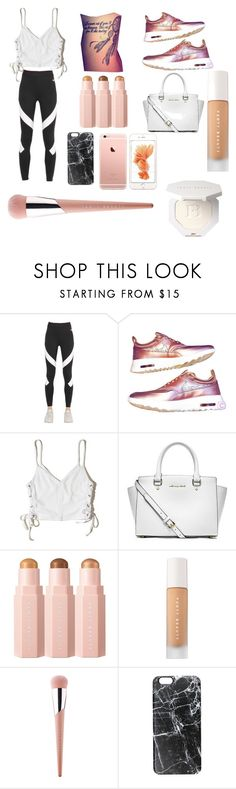 """hanging out with Jason"" by megan2467 on Polyvore featuring NIKE, Hollister Co., Michael Kors, Sephora Collection, Puma and Casetify"
