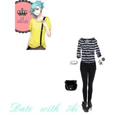 """""""Date with Ai"""" by itzelperaltadelacruz on Polyvore"""