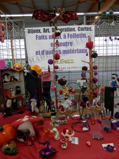 Felt.Buzz stand at Journées de la laine, Felletin 23500, Octobre 2014