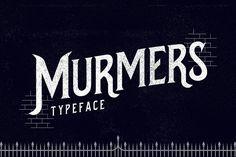 Murmers Typeface - Serif
