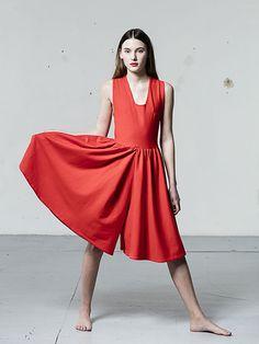 6749c317b7d DRESS XIMENA RED • LE STOCKHOLMSYNDROME • Tictail