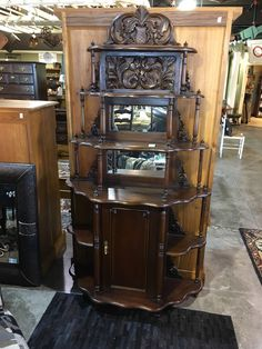 Antique Shelving - Carved  - Auburn SKU XAUFYJ - $228.00