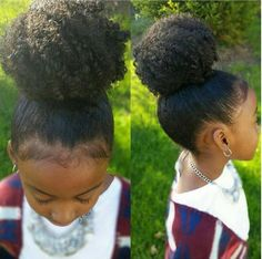 Her Bun Is Life! - http://community.blackhairinformation.com/hairstyle-gallery/kids-hairstyles/her-bun-is-life/