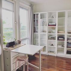 Ikea, What A Wonderful World, Office Desk, Shelving, Journal, Furniture, Home Decor, Creative Area, Small Space