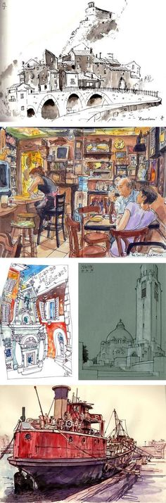 urban sketchers: