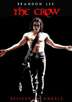 The Crow movie poster - Brandon Lee. I just love this movie.  #brucelee #bruceleequotes #kurttasche