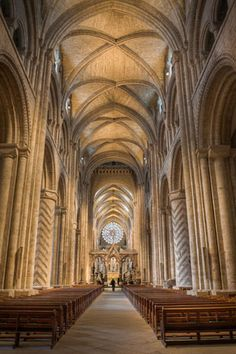The amazing Durham Cathedral, UK built in 1003 AD,