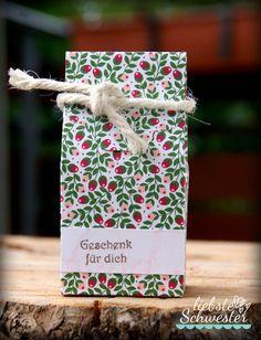 liebste schwester: VIP-Donnerstag - kleine Box - Stampin`UP!