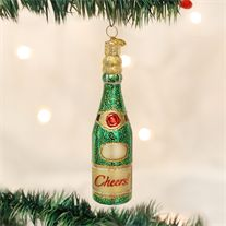Old World Christmas Ornaments: Cheers Glass Blown Ornaments for Christmas Tree *** You can figure out more information at the web link of the image. (This is an affiliate link). Hand Painted Ornaments, Glass Ornaments, Champagne Christmas Tree, Old World Christmas Ornaments, Auld Lang Syne, Christmas Bedroom, Sparkling Wine, Cheers