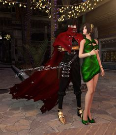Vincent and Yuffie- What, no suit? by NightysWolf on DeviantArt Tidus And Yuna, Vincent Valentine, Cloud And Tifa, Fantasy Couples, Tifa Lockhart, Final Fantasy Vii, Deviantart, Suits, Games