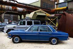 https://flic.kr/p/XbrM1h | Schöne Sterne Treffen in Hattingen 2017 | Mercedes-Benz 230er W114 Baujahr 1972. Weitere Bilder und ein Video auf www.oldtimertrecker.de