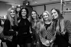 Jackie Busato, Talina Moreira, Esther Schattan, Marina Iannaccone, Jaqueline Diogo