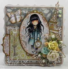 Una tarjeta muy melancólica, perfecta para el otoño invierno.