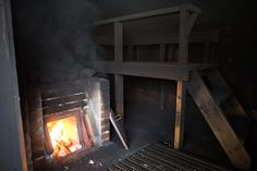 This in old stile of sauna in Finland, were a lot people were born earlier. Like my mother. Finnish Sauna, Saunas, Finland, Wordpress, Culture, Smoke, Hot Tubs, Blog Entry, Canada