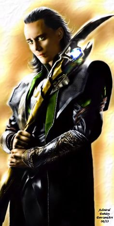 Loki i really like the fan art in this one