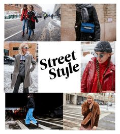 """""""Street Style"""" by dailyfashionlover ❤ liked on Polyvore"""