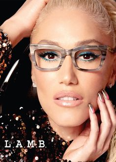 f119be18a0 gwen stefani lamb 3 How Gwen Stefani Is Making Glasses a Must Have Accessory
