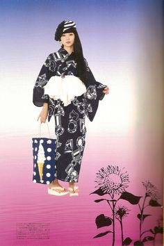 Kimono-hime issue 10. Fashion shoot page 7. by Satomi Grim, via Flickr