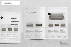 Buy Product Catalogue by egotype on GraphicRiver. Product Catalogue Design Template Minimal and Professional Work and Project Design Portfolio template for creative b. Catalogue Design Templates, Product Catalog Template, Catalogue Layout, Product Catalogue, Product Catalog Design, Book Design Layout, Page Design, Portfolio Layout, Portfolio Design