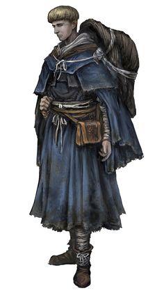 Cleric Class Art - Dark Souls III Art Gallery