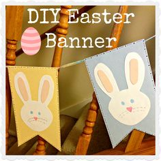 Some of the Best Things in Life are Mistakes: DIY Easter Bunny Banner