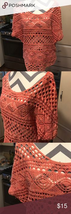 Crochet top Cute loose top. Maurices Tops