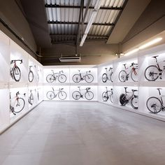 I want this bike store setup for my garage (for 1 or 2 bikes)