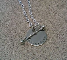 I WANT!...Majorette Baton Twirler  Hand Stamped Necklace by TheJewelryChicks