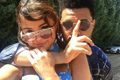 Selena Gomez wears A