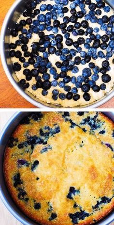 SUMMER CAKE: Blueberry Greek Yogurt Cake Köstliche Desserts, Delicious Desserts, Dessert Recipes, Yummy Food, Cake Recipes, Paleo Sweets, Health Desserts, Greek Yogurt Cake, Greek Yogurt Recipes