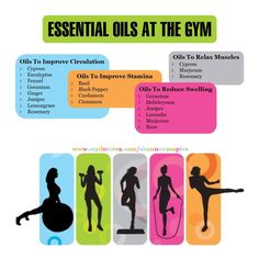 essential oils at the gym