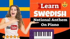 Swedish National Anthem - Svensk Nationalsång Easy Piano Songs, Learn Swedish, Free Piano, National Anthem, My Face Book, Learning, Music, Youtube, Books