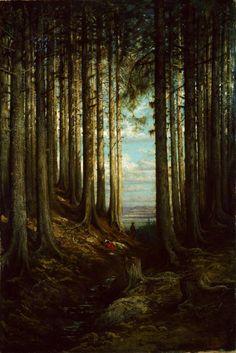 Gustave Doré  French, 1832-1883, Alpine Scene