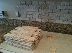 10-2x4-Tumbled-Brick-Chiaro-Travertine-backsplash-installation-Tampa-Sarasota-Brandon-Bradenton-St-Pete-Clearwater.jpg (451×338)