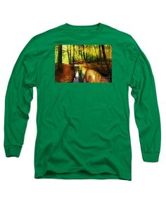 Long Sleeve T-Shirt - Abstract Landscape 0747