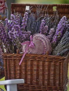 flower basket #flower basket lavender basket#basket #wicker basket