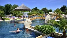 Benodet, La Pointe St Gilles, campsite, south brittany, swimming pool
