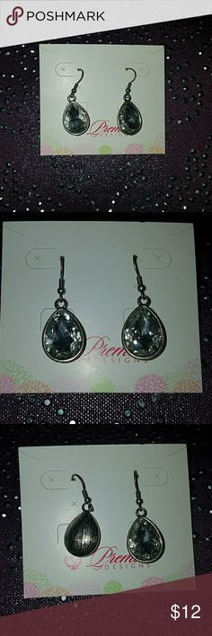 Teardrop dangle earrings Premier Designs teardrop dangle earrings ♡ Premier Designs Jewelry Earrings