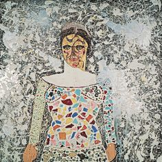 "Niki de Saint Phalle, ""Autoportrait"" (""Self-Portrait"") (c. 1958–59) (© 2014 Niki Charitable Art Foundation; all rights reserved; photo by Laurent Condominas)"