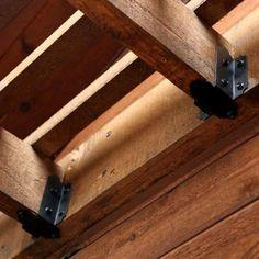 OWT Ornamental Wood Ties 6 in. - 8 in. Joist Hanger Tab - Laredo Sunset-56640 - The Home Depot