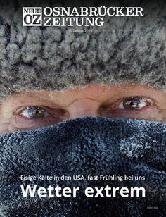 Wetter extrem: Eine Kältewelle lässt die Menschen in den USA bibbern. In Deutschland hingegen herrschen beinahe frühlingshafte Temperaturen. Lesen Sie mehr in der iPad-Abendausgabe vom 6. Januar 2014.