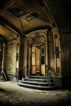 Abandoned Place   by Teolc Eniger, via Flickr