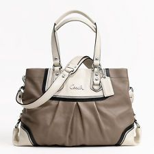I love purses and sales.  This is a match made in...Coach Factory.