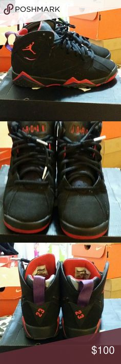 Jordan retro 7s Used.. perfect condition, worn only twice. Comes with original box Air Jordan Shoes Sneakers