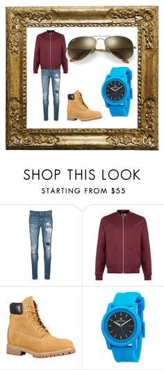 """""""Cousin outfit"""" by wolf134 on Polyvore featuring Scotch & Soda, Topman, Rip Curl, Ray-Ban, men's fashion and menswear"""