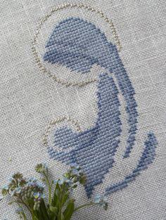 ♥ Korsstygns-Arkivet ♥: MARIA OCH JESUS-KORSSTYGNSBRODERI Mary and Jesus Cross Stitch