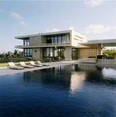 Beach House Design Ideas with Swimming Pool