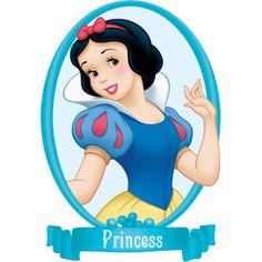 Дисней Принцессы: Мини картинки с Белоснежкой